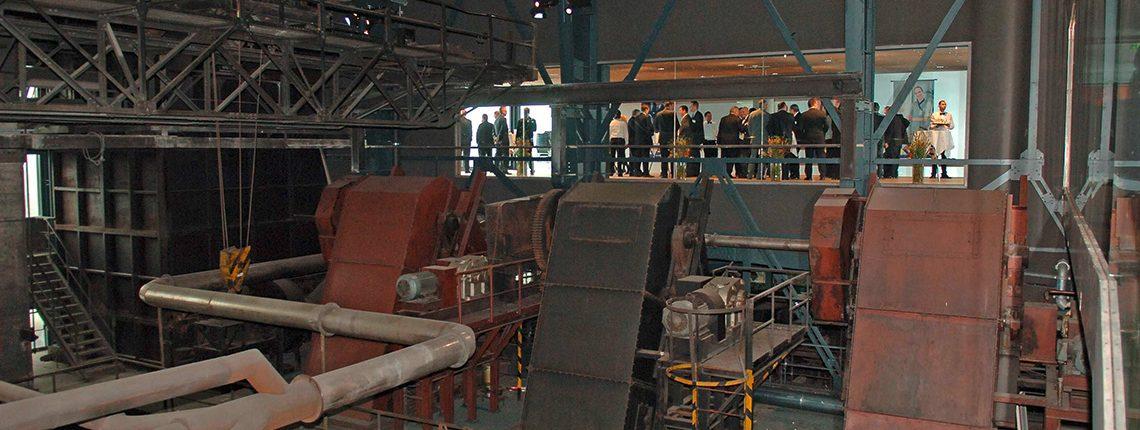 Kohlewäsche auf Zeche Zollverein