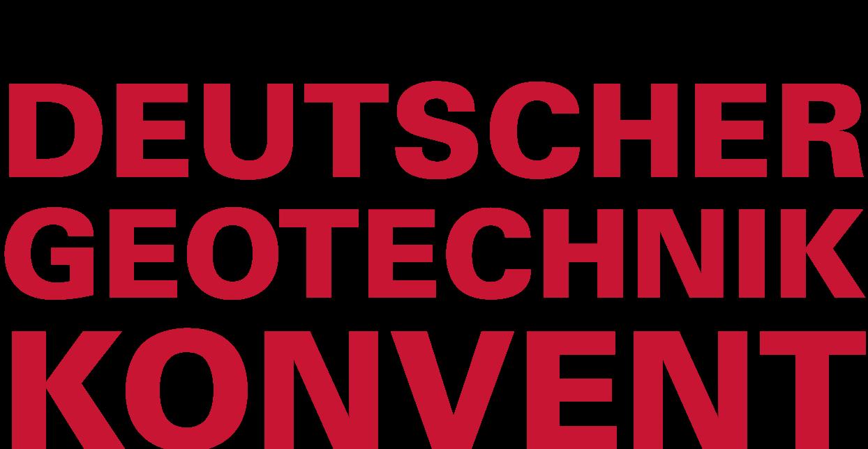 Logo Deutscher Geotechnik-Konvent