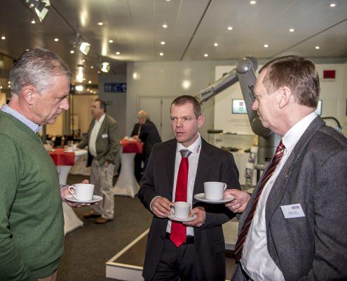 Bauxperten beim networken auf dem 3. Deutschen Geotechnik-Konvent