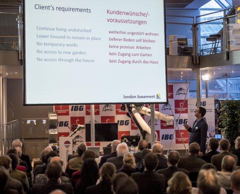Jake Puddy als Referent beim 3. Deutschen Geotechnik-Konvent