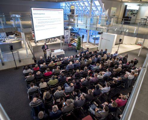 Rolf Katzenbach als Referent beim 3. Deutschen Geotechnik-Konvent in der Robotation Academy