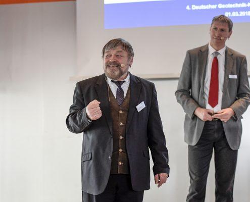 Prof. Dr.-Ing. Richard Herrmann als Referent beim 4. Deutschen Geotechnik-Konvent
