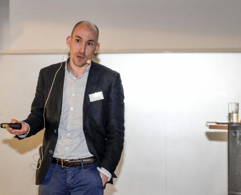 Jonas Geissler als Referent beim 4. Deutschen Geotechnik-Konvent